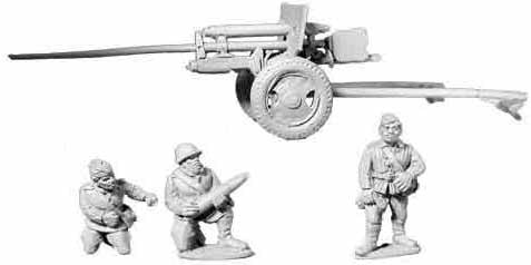 Soviet 57mm Anti Tank Gun
