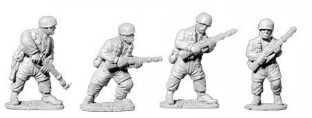 Fallschirmjager with Rifles I (4)