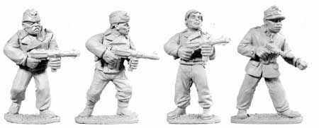 German Dismounted Tank Crew (4)