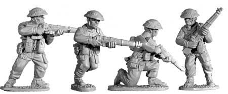 British Infantry with Rifles I (4)