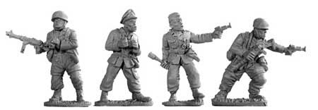 Fallschirmjager Officers (4)