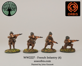 WW2227 - French Infantry (4)