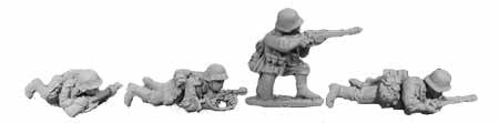 Wehrmacht Infantry Prone and Kneeling II (4)