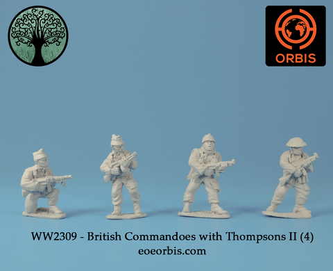 WW2309 - British Commandoes with Thompsons II (4)