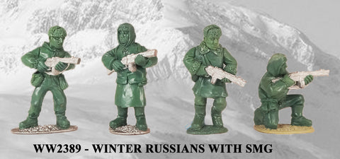 WW2389 - Winter Russians with SMG I