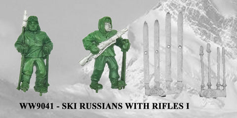 WW9041 - Russian Ski Troops with Rifles I