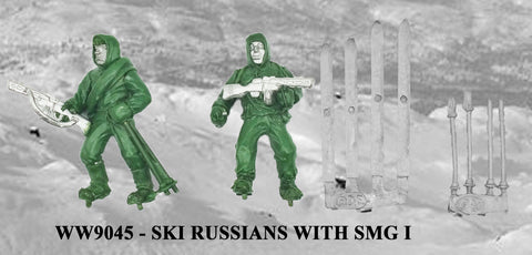 WW9045 - Russian Ski Troops with SMG I
