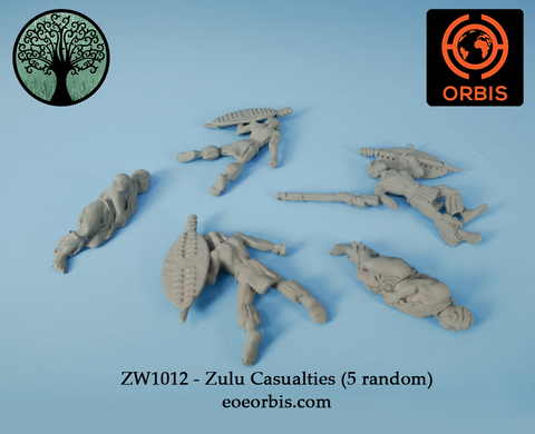 ZW1012 - Zulu Casualties (5 random)