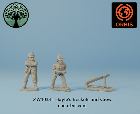 ZW1038 - Hayle's Rockets and Crew