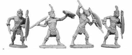 Married Zulus with Thrusting Spears (4)