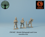 ZW1047 - British Heliograph and Crew