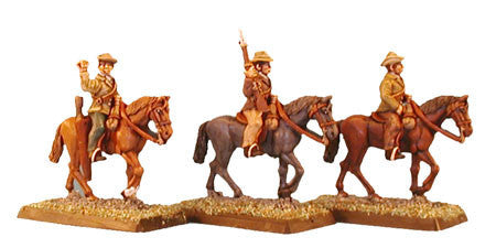 Mounted Boers with Rifles (3)
