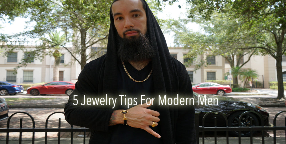 5 Jewelry Tips For Modern Men