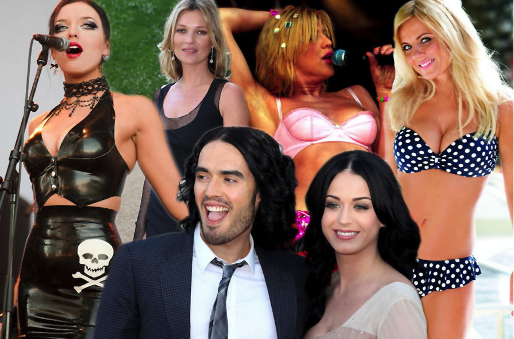 Image result for russell brand with women