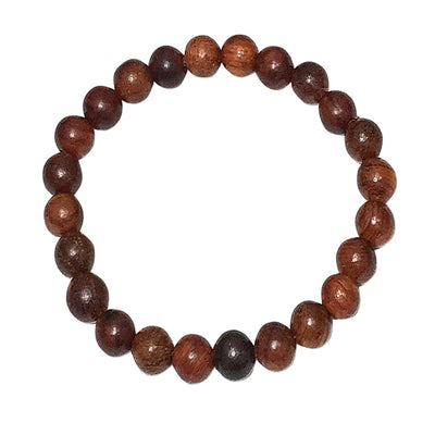 Natural Rosewood Beads Bracelet for Men