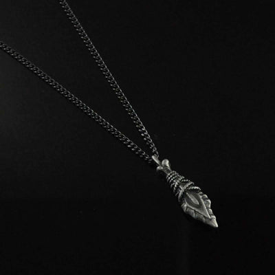 Dirk Pendant Necklace for Men in Stainless Steel