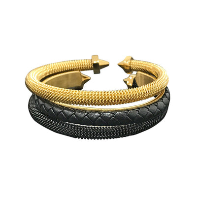 Paris Bracelets Stack for Men