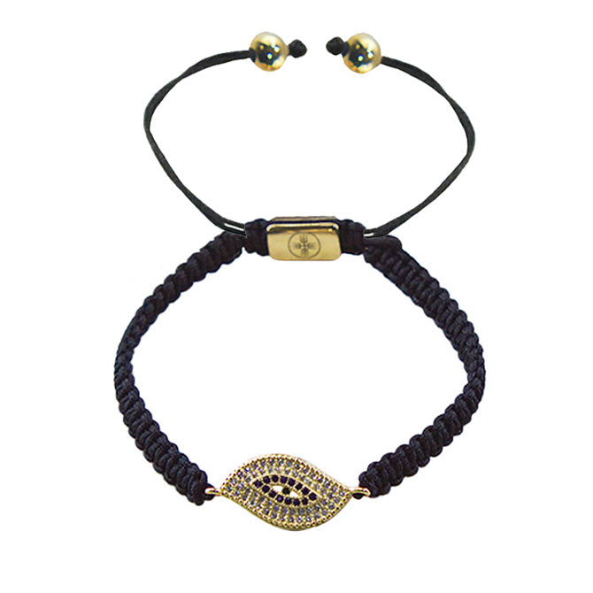 Evil Eye Braided Macrame Bracelet