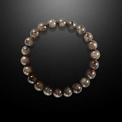 Earth Spirit Spiritual Bead Bracelet -  Labradorite 8mm - Strength and Perseverance