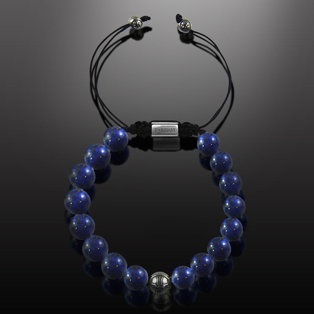 Lapis Lazuli Beaded Bracelet for Men - Summit Series