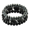 'Performance' Set of 3 Beaded Bracelets for Men
