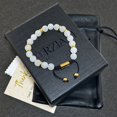 Prism Power Beads Bracelet in Moonstone