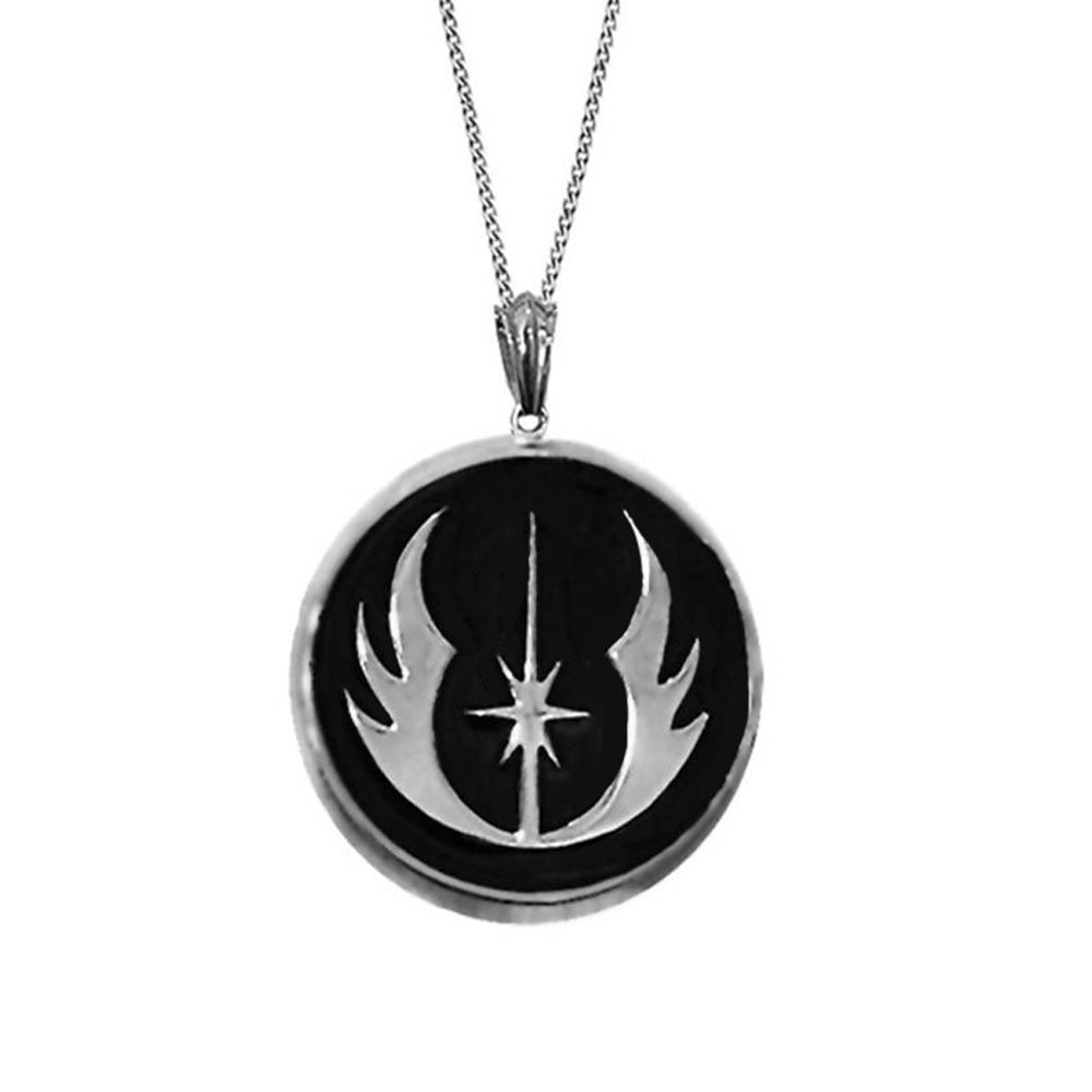 Jedi Order Symbol Star Wars Pendant Necklace For Men
