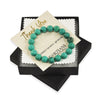 Bali Turquoise Beaded Bracelet for Men - Protection
