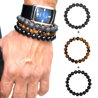 Wanderlust Beaded Bracelet Set of 3