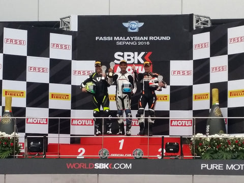 3rd place podium finish