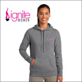 Ignite LST254 Sport-Tek® Ladies Pullover Hooded Sweatshirt