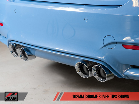 F8X M4 AWE Tuning Track Edition Exhaust