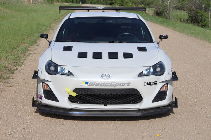 Verus Engineering FR-S / BRZ / GT86 - Hood Louver Kit, Large Vents
