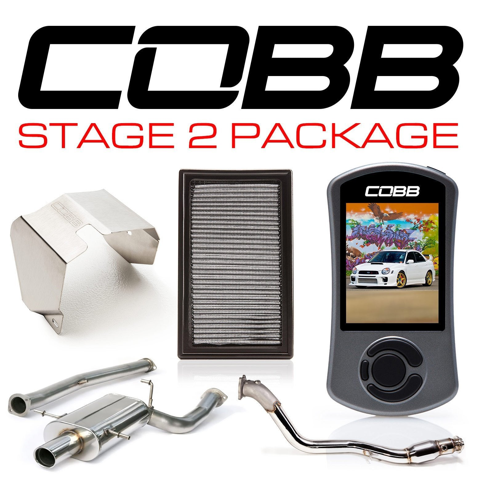 Cobb 04-05 Subaru WRX Stage 2 Power Package - cobb612X02