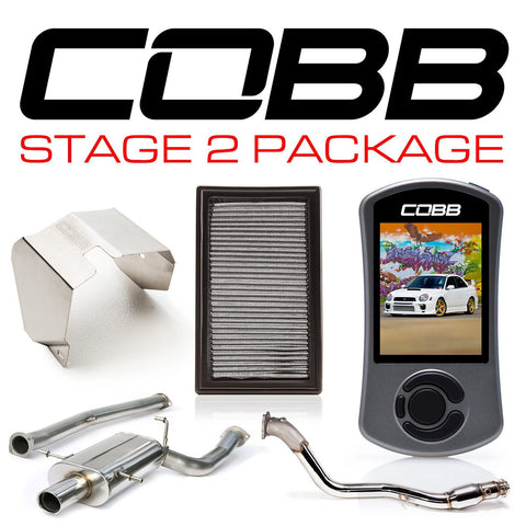 Cobb 02-03 Subaru WRX Stage 2 Power Package - cobb612X02