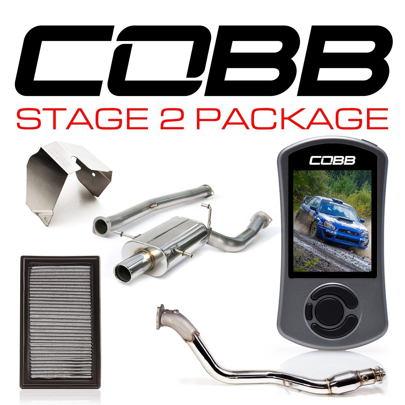 Cobb 04-05 STI Subaru Stage 2 Power Package - cobb613X12