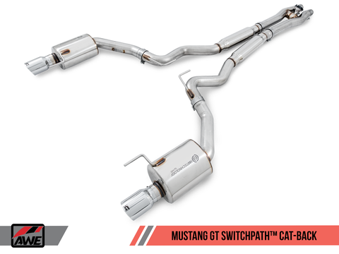 15-17 Ford S550 Mustang GT AWE Tuning SwitchPath Exhaust