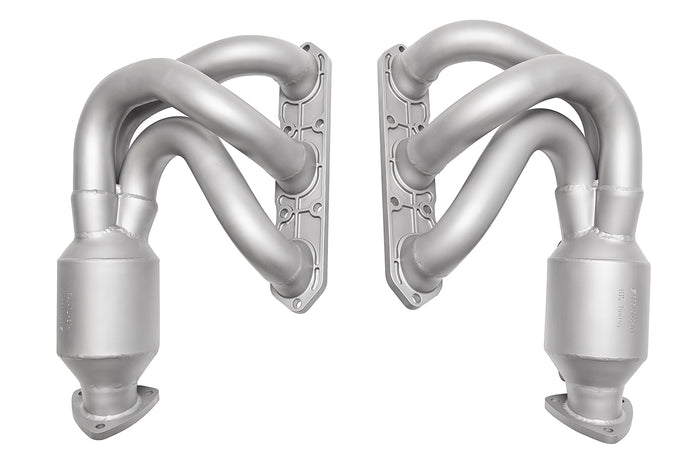 Porsche 987.1 Cayman / Boxster Long Tube Street Headers (w/ HJS 200 cell catalytic converters)