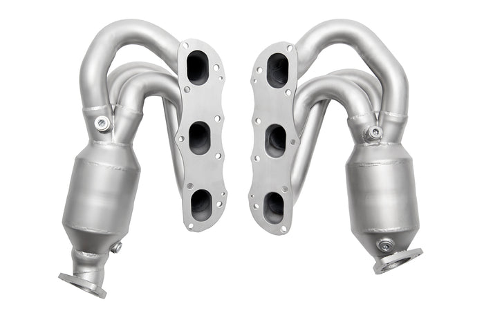 Porsche 987.2 Cayman / Boxster Long Tube Street Headers (w/ HJS 200 cell catalytic converters)