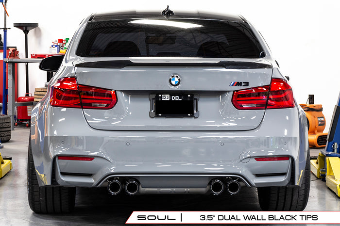 BMW F80 and F82 M3 / M4 (Dual Wall Black Tips)