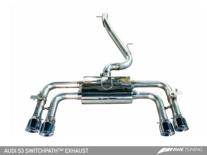 15-17 S3 AWE Tuning Exhaust