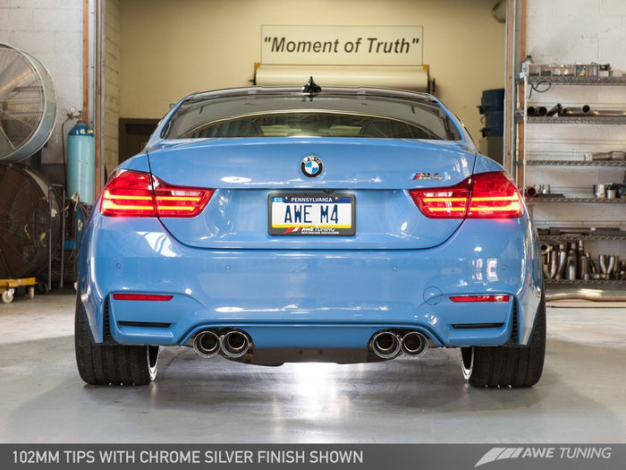 F8X M4 AWE Tuning SWITCHPATH™ Exhaust