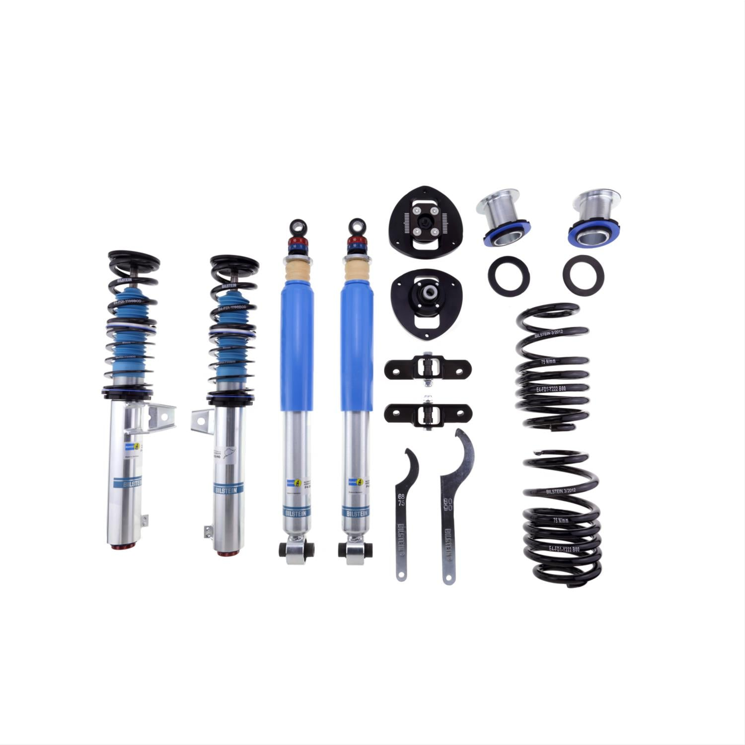 Bilstein Clubsport Golf R Performance Suspension System