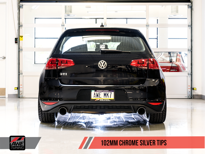 AWE Track Edition Exhaust for VW MK7 GTI