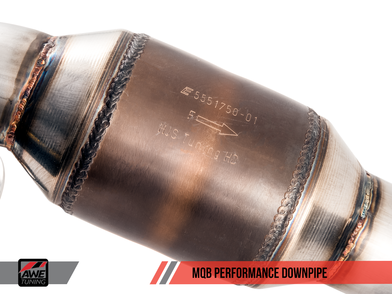 AWE Performance Downpipe for MQB for VW MK7 GTI