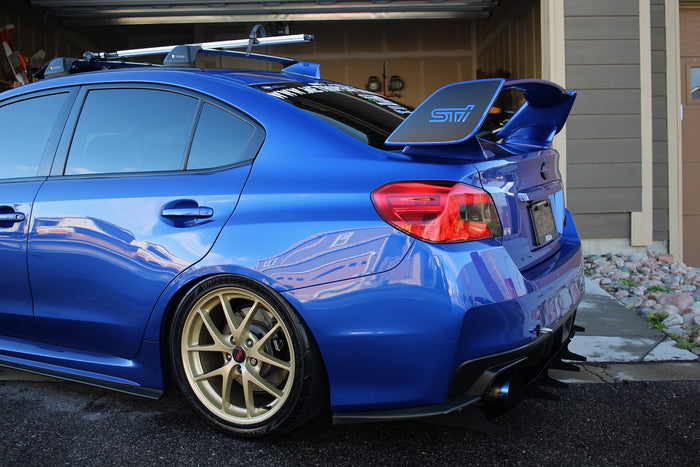 Verus Engineering 15+ WRX and STI - Aggressive Rear Diffuser