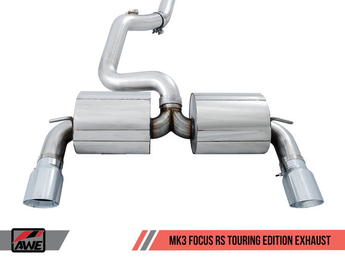 16-17 Ford Focus RS AWE MK3 Exhaust
