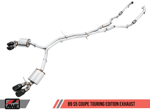 18 Audi S5 AWE Tuning Exhaust
