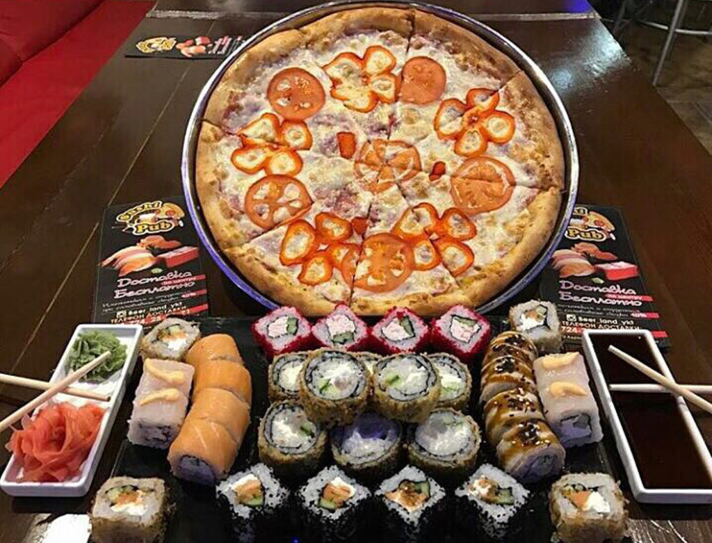 Sushi or Pizza When Dieting