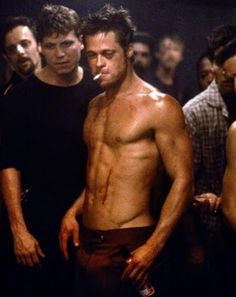 Brad Pitt Fight Club Body Workout